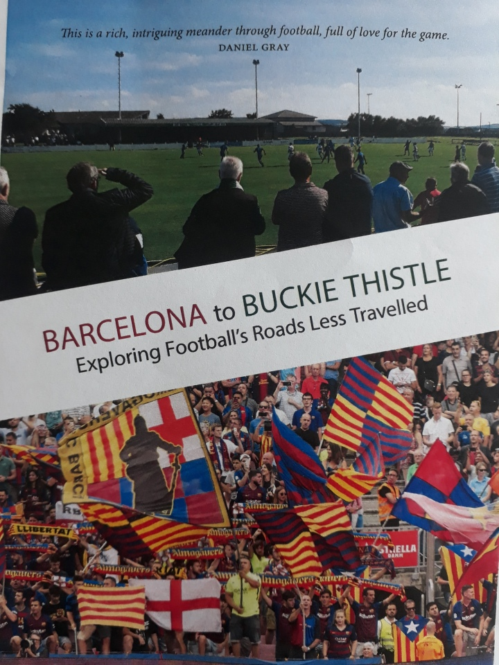 Barcelona to Buckie Thistle book cover